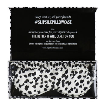 Limited Edition Leopard Print Eye Mask - Black