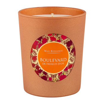 Paris In The Fall Scented Candle - 190g - Boulevard De Feuilles D'Or
