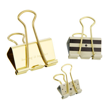 """Keep It Together"" Binder Clips"