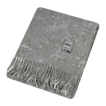 Urban Texture Throw - 130x170cm - Grey