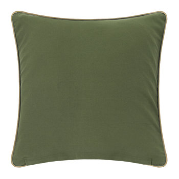 Coral Cushion - Green - 45x45cm