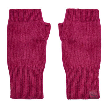 Frostly Fingerless Gloves - Ruby