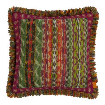 Banavie Tassel Edged Reversible Cushion - 45x45cm - Purple