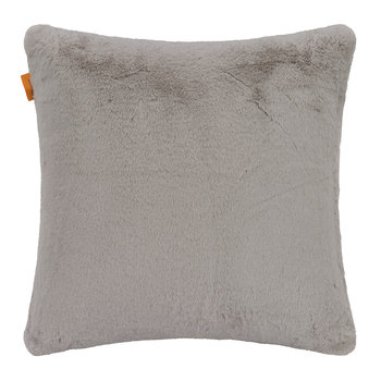 Dubouche Faux Fur Cushion - 45x45cm - Grey