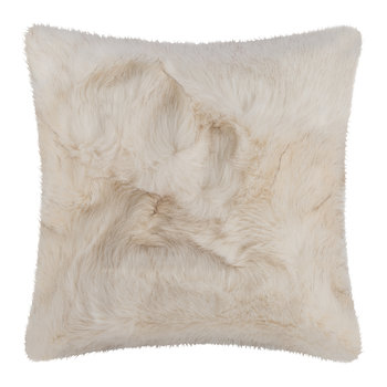 Hesdin Faux Fur Cushion - 45x45cm - Beige