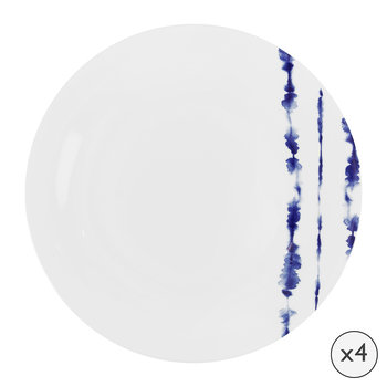 Coast Porcelain Dinner Plates - Set of 4