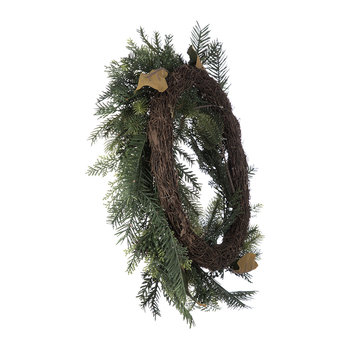 Deco Natural Pine Cone Wreath