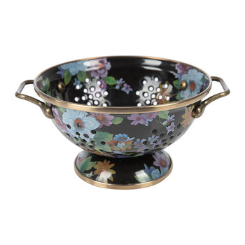 Flower Market Colander - Small - Black