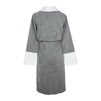 Couture Velvet Bathrobe - Grey
