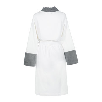 Couture Velvet Bathrobe - White