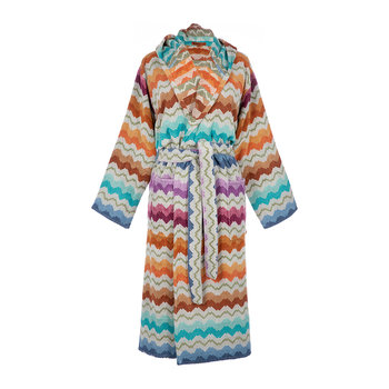Vasilij Hooded Bathrobe - 100