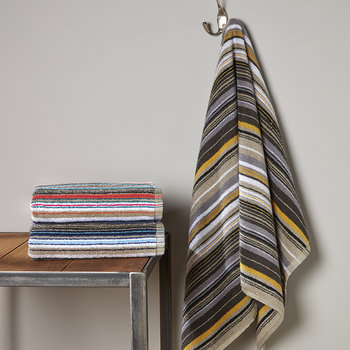 Barcode Stripe Towel - Multi