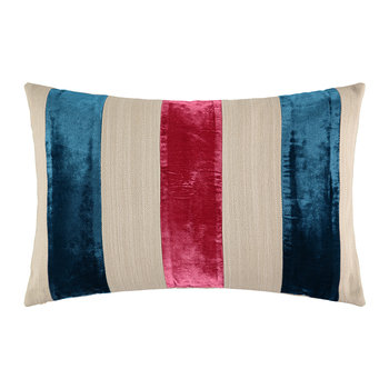 Nikita Cushion - 60x40cm - Rose Bleu