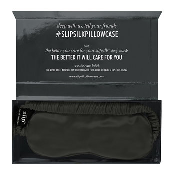 Pure Silk Eye Mask - Charcoal