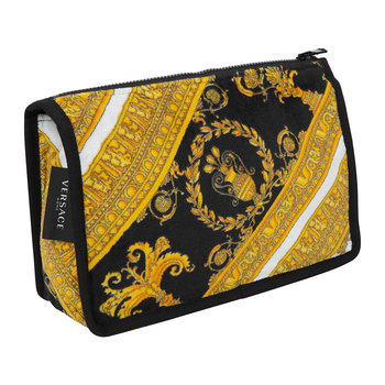 I Love Baroque Wash Bag - Black/White/Gold