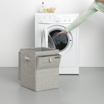 Stackable Laundry Box - Gray