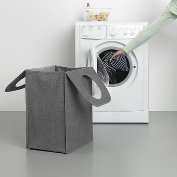 Rectangle Laundry Bag - 55 Litres - Pepper Black