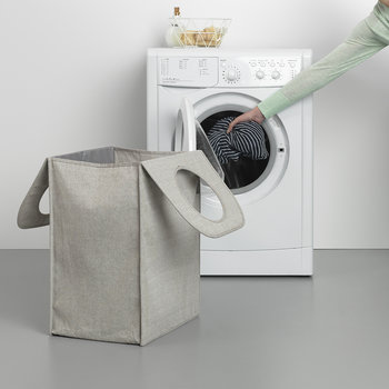 Rectangle Laundry Bag - 55 Litres - Grey