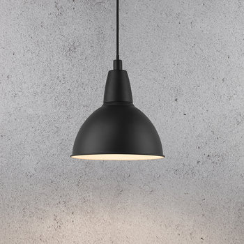 Trude E27 Pendant Light - Black