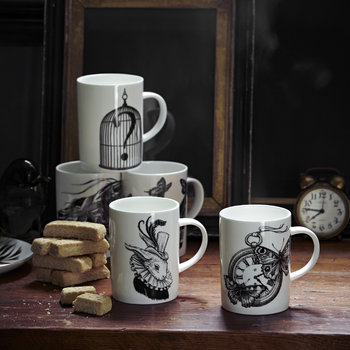 Marvellous Mugs - Birdcage with Question Mark