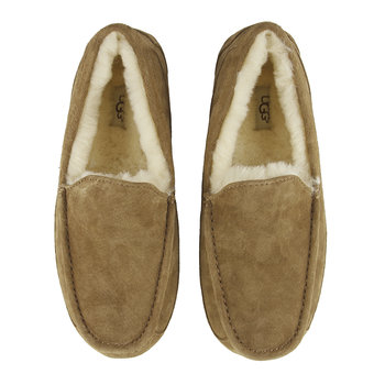 Men's Ascot Slippers - Chestnut