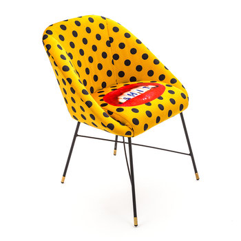 Upholstered Padded Chair - Sh*t