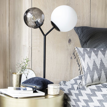 Twice Table Lamp - Black