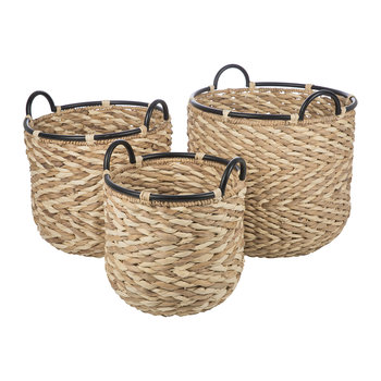 Bibury Woven Baskets - Set of 3