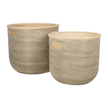 Serang Rattan Baskets - Set of 2