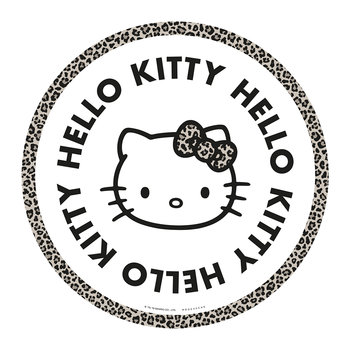 Hello Kitty Round Vinyl Floor Mat