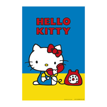 Hello Kitty Telephone Vinyl Floor Mat