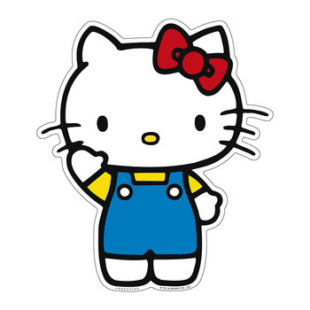 Hello Kitty Waving Vinyl Floor Mat