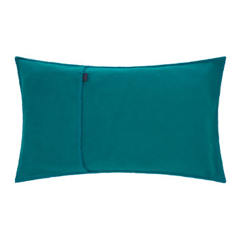 Soft Fleece Cushion - 30x50cm - Dark Turquoise