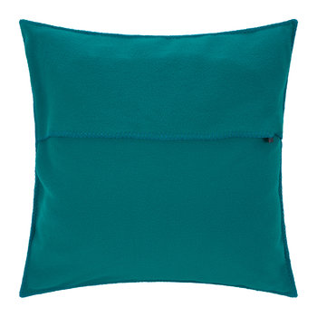 Soft Fleece Cushion - 50x50cm - Dark Turquoise
