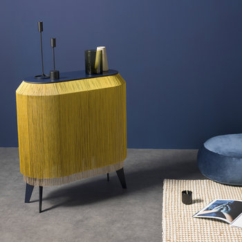 Baby Alpaga Side Table - Chic Gold
