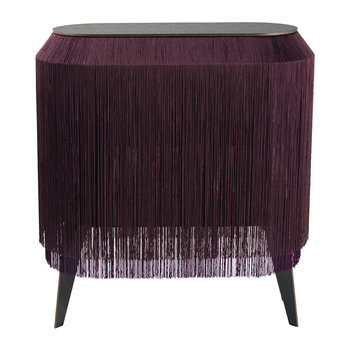 Baby Alpaga Side Table - Deep Purple