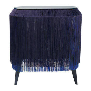 Baby Alpaga Side Table - Electric Blue