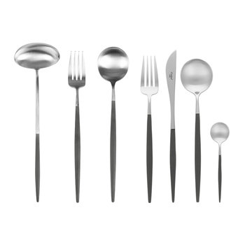 Goa Flatware Set - 75 Piece - Black