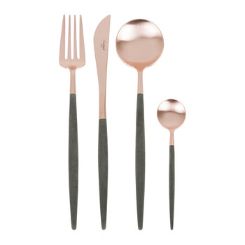 Goa Cutlery Set - 24 Piece - Rose Gold