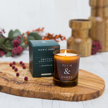 Christmas Scented Candle - Orange & Clove