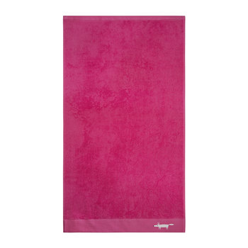 Mr Fox Towel - Crocus Pink