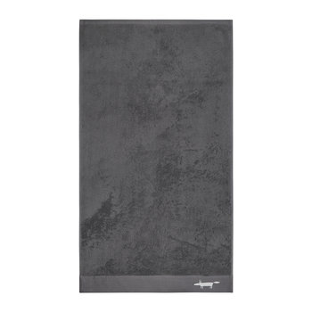 Mr Fox Towel - Graphite - Bath Towel