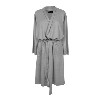 Tencel Bathrobe - Grey - Long