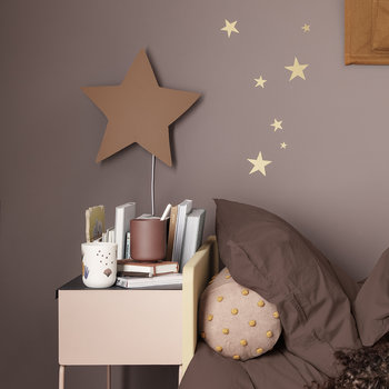 Star Wall Lamp - Mustard