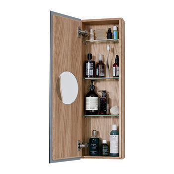 Zone Bathroom Cabinet - Oak