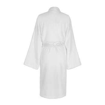Iconic Bathrobe - Optic White
