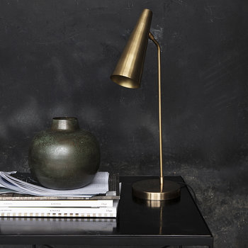 Precise Table Lamp - Brass