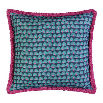 Tom Carmine Reversible Pillow - 45x45cm