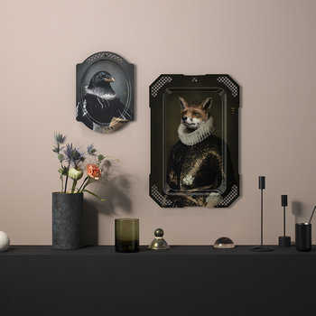 Galerie De Portraits - Rectangular Fox Tray