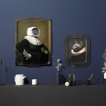 Galerie De Portraits - Rectangular The Monkey Tray